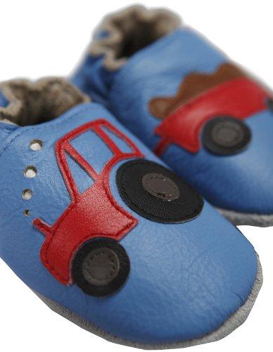 Pre Shoes Soft Leather Baby Shoes Young Farmers (0 - 6 Months)