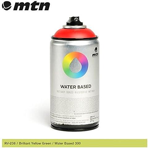 MTN Brilliant Light Green - RV-34 300ml Water Based Spray Paint
