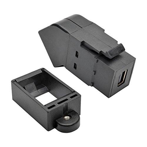 Tripp Lite P169-000-KPA-BK DISPLAYPORT Mini DISPLAYPORT Schwarz - Kabelschnittstellen-/Adapter (DISPLAYPORT, Mini DISPLAYPORT, Weiblich/weiblich, Gold, Schwarz) -