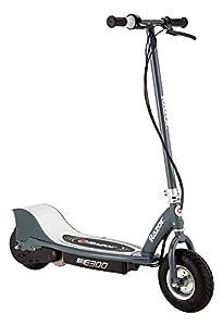 Razor-E300 Scooter eléctrico, Color Gris Mate, 0 (Razer RZ-E300-MG)