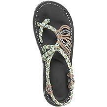 Darringls_Sandalias de Primavera Verano Mujer,Chanclas de Mujeres Sandalias de Playa Zapatos de Verano Correa