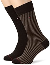 Tommy Hilfiger - TH MEN SMALL STRIPE SOCK 2P - Chaussettes Homme