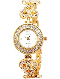 Watch Me Watches For Girls Below 300/Watches For Girls Stylish/Watches For Women Low Price (Silver Gold Rose Gold... - B06XPG5QSP