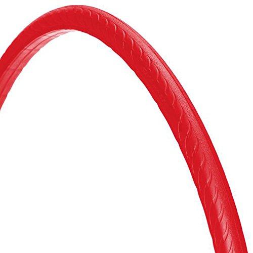 700 x 25C Tannus ,,High-Tech-Polymer - Reifen, ohne Luft' solid Fixie Singlespeed Reifen Aither 1.1, Farbe:rot
