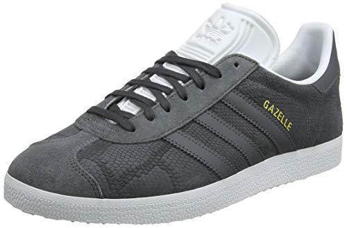 adidas Gazelle W, Zapatillas para Mujer, Gris GreyFootwear White 0, 38 23 EU