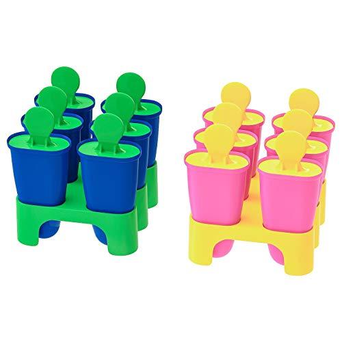 Eis Lolly Maker, farbig sortiert, Produktgröße: Höhe: 10 cm, Material: Polypropylen Kunststoff
