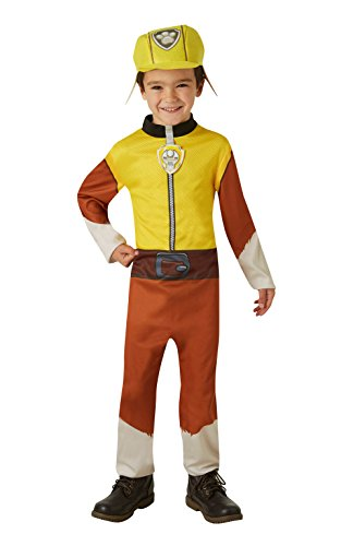 """Rubie's Offiziell lizenziertes """"PAW Patrol"""" Rubble-Kostüm –Kleinkinder 2–3Jahre, -"""