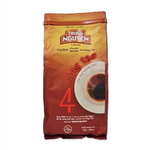 Trung Nguyen Creative 4 : Arabica und Robusta - Kaffee aus Vietnam 250g (Nguyen Kaffee)