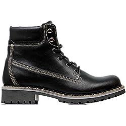 Men's Dock Boots Black-UK 7/EU 41/US 8