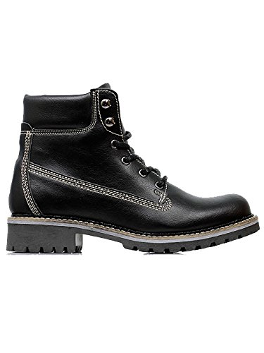 Will's Vegan Shoes Men's dock boots black-UK 13/EU 47/US 14