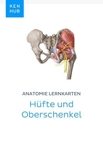 Anatomie Lernkarten: Hüfte und Oberschenkel: Lerne alle Knochen ...