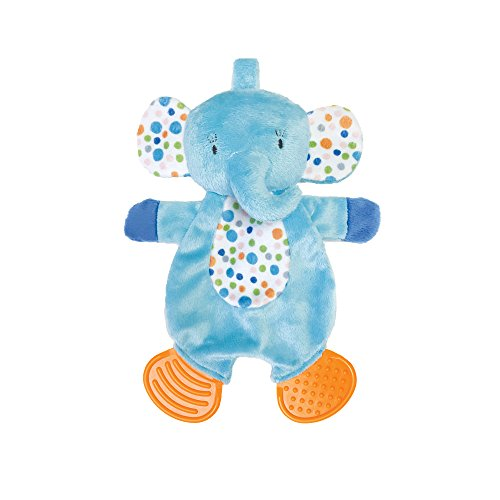 Manhattan Toy Teether Elephant Snuggle Blankie Toy