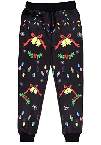 MTFS Kind Weihnachten Kapuzenpullover Alpaka Sweatshirts Leggings (elk Leggings, 150) -