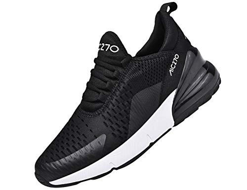 SINOES Femme Homme Baskets Chaussures de Sports Course Sneakers Respirante Fitness Gym Multisports Outdoor Running Vert 38 EU