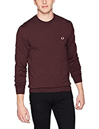 Fred Perry K4501 Chemises Homme Homme Bordeaux XS