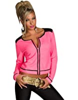 4882 Damen Tailliertes Jäckchen Jacke verfügbar in 3 Größen 4 Farben