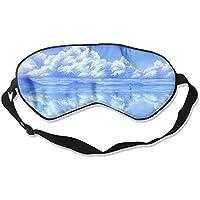 Comfortable Sleep Eyes Masks Blue Sky Pattern Sleeping Mask For Travelling, Night Noon Nap, Mediation Or Yoga preisvergleich bei billige-tabletten.eu