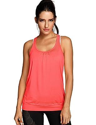 SYROKAN Damen Sport Tank Top - Essential Fitness T-Shirt Tops