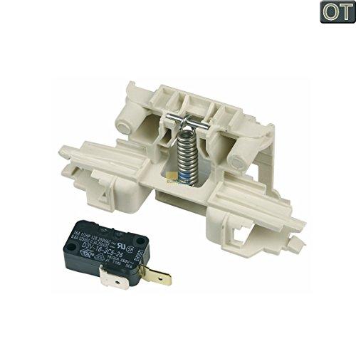 ORIGINAL Candy Hoover 49017982 Mikroschalter Schalter Türschloss Schloss Spülmaschine Geschirrspüler u. a. CDI454580, HED6612180, HHAPK61121