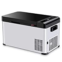 Car Compressor Refrigerator, Luxury Large Capacity Car Refrigerator Compressor Refrigeration/Suitable For Travel Camping Picnic, 17.3L