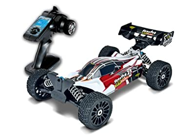 Carson 500409016 - 1:8 X8EB Specter Brushless-Buggy BL 6S Waterpro RTR, 2.4 GHz von Carson