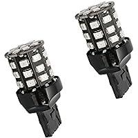 2x lampadine LED bianche T20, 7440, W21W, LED della luce di marcia diurna, luce di retromarcia, luce di posizione