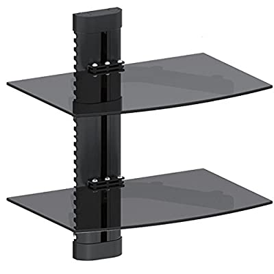 Maclean 1-tier 2-tier 3-tier floating shelves - cheap UK light store.