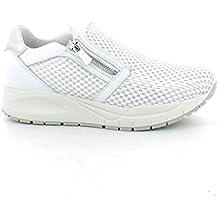 IGI CO scarpe donna sneakers basse senza lacci 77760 00 BIANCO ARGENTO 3595d6d4e2f