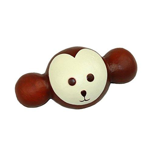 pomcat 7Stoßdämpfer im Affe Kawayi Maus Hand Export giappone-cioccolato (braun)