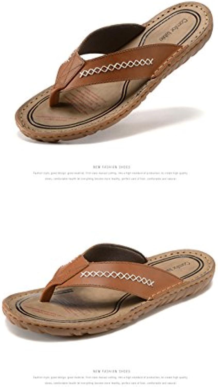 DUWEN Große Größe Hausschuhe atmungsaktive Sandalen hohlen Sandalen Outdoor Sport Casual Sommer Schuhe Herren