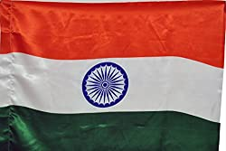Indigo Creatives Indian Flag - Large Size (30*45) For Homes/ Offices/ School/ IPL, cricket