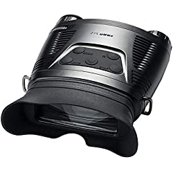 XINHUANG HD Dynamic Widescreen Infrared Digital Gafas de visión Nocturna Cámara fotográfica multifunción Caza Nocturna Dispositivo de Broche de presión (Color : B)