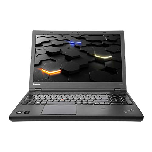 Lenovo ThinkPad W540 i7-4800MQ CPU, 2,7 GHz, 16 GB RAM 15 Zoll, 2880 x 1620 3K Display 500 GB SSD K1100M 2GB beleuchtete Tastatur, inkl. Windows 10 Professional CAM (Zertifiziert und Generalüberholt) (Lenovo W540 Tastatur)