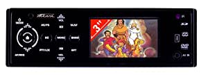 "Takara CDV 1133 Autoradio DVD Ecran 3,5"" Port USB 4 x 45 W Noir"