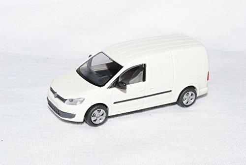 Preisvergleich Produktbild VW Volkswagen Caddy Maxi Kasten Transporter Weiss Ab 2009 2k 3. Generation Ho H0 1/87 Rietze Modellauto Modell Auto