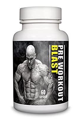 Pre Workout Blast Creatine 500mg by Natural Answers - High Strength 60 Capsules 1 Month Supply - Increases Sports Performance, Strength & Muscle Growth - UK Manufactured