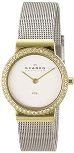 Skagen - EU644SGS - Montre Femme - Quartz Analogique - Bracelet Acier Inoxydable Argent
