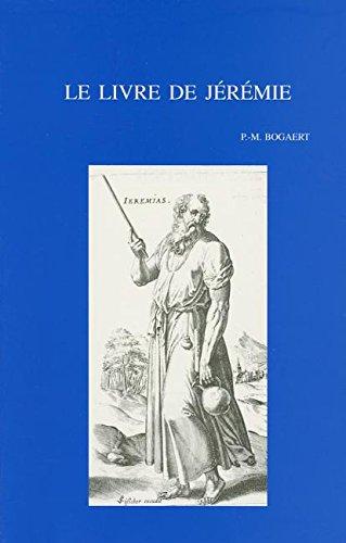 Le Livre De Jeremie: Le Prophete Et Son Milieu Les Oracles Et Leur Transmission