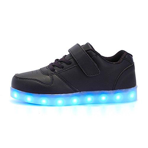 Aizeroth-UK LED Zapatos Verano Ligero Transpirable Bajo 7 Colores USB Carga Luminosas...