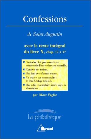 Confessions, Saint Augustin