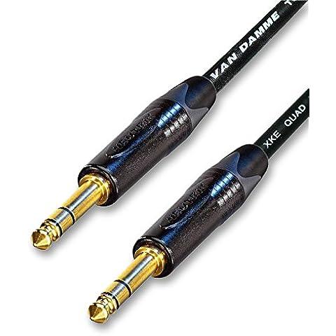 Designacable NP3X-B-VDSQBK0300-NP3X-B - Cable para micrófonos jack (balanceado, acodado, 3 m), color