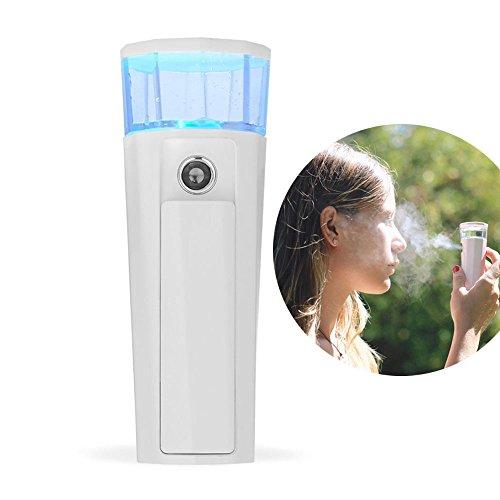 Spray Facial,Nano Mist Pulverizador Ionic Facial Hidratante Mister Fuerte Spray Hidratante Profundo Cara Spray de Belleza Cuidado de la piel por Nosame (precio: 14,99€)