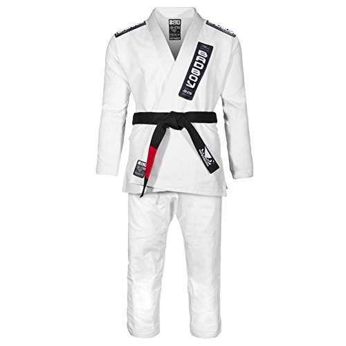 Bad Boy allenamento uomo Series Defender Bjj GI, Uomo, Training Series Defender, White, A5