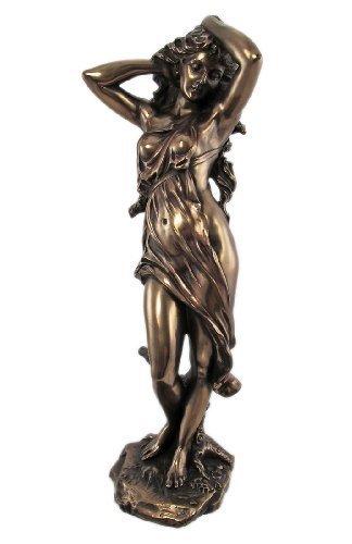 13.25 Inch Mighty Aphrodite Grecian Goddess Resin Statue Figurine by PTC