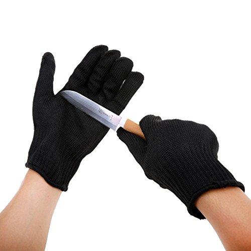 Andux fischen Anti-schneiden Filetierhandschuh Angeln Handschuhe Größe Large 2pcs F/ST-01 X