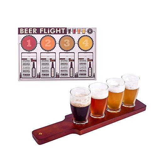 Craft Beer Lovers and Home Brewers Verkostungsflug-Set 14 1/2