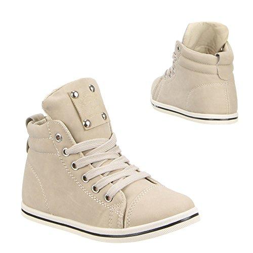 Chaussures de loisirs pour enfants Q-20 Beige - Beige