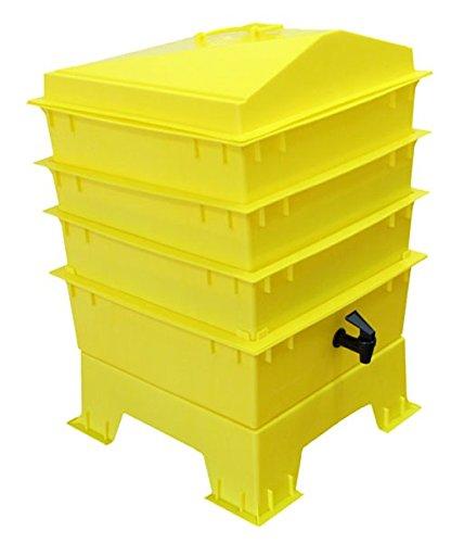 Der Tiger Rainbow Wurmkomposter 4Tablett Elektrische - Kompost-elektrisch