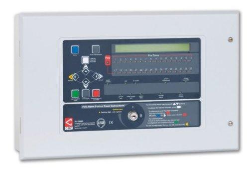 TC414-c-tec xfp502/E RED Zwei Loop 32LEDs Zone-freistehend Feuer Panel XP95 2 Zone Fire Panel