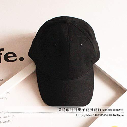 mlpnko Kinder Hut Mütze Baby Baseball Cap Jungen und Mädchen Sonnenblende Kappe schwarz verstellbar (Fisch Kostüm Katze Im Hut)